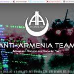 Ermenistan Devlet Siteleri Anti-Ermenia Tarafından Hacklendi!