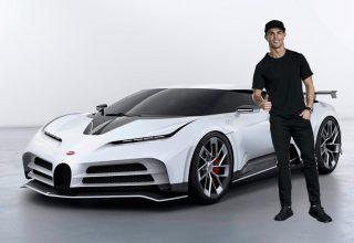 İşte futbolcu Cristiano Ronaldo'nun Son Arabası