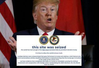 Trump'ın Seçimler İçin Oluşturduğu Kampanya Sitesi Hacklendi