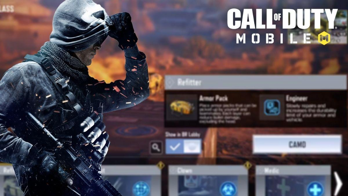 Call Of Duty Mobile Yeni 'Refitter' BR Sınıfı Çıkış Tarihi Onaylandı