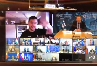 Hollandalı gazeteci Zoomda AB başkanları konferansını hackledi!