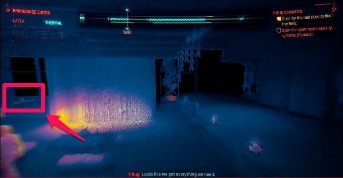 Cyberpunk 2077 Braindance Rehberi - Kalıntıyı Bulmak