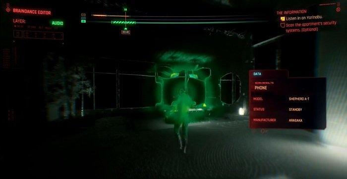 Cyberpunk Braindance kılavuzu - Ses katmanı