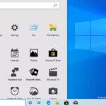 Başlat menüsünü tam ekran yapma [Windows 10]