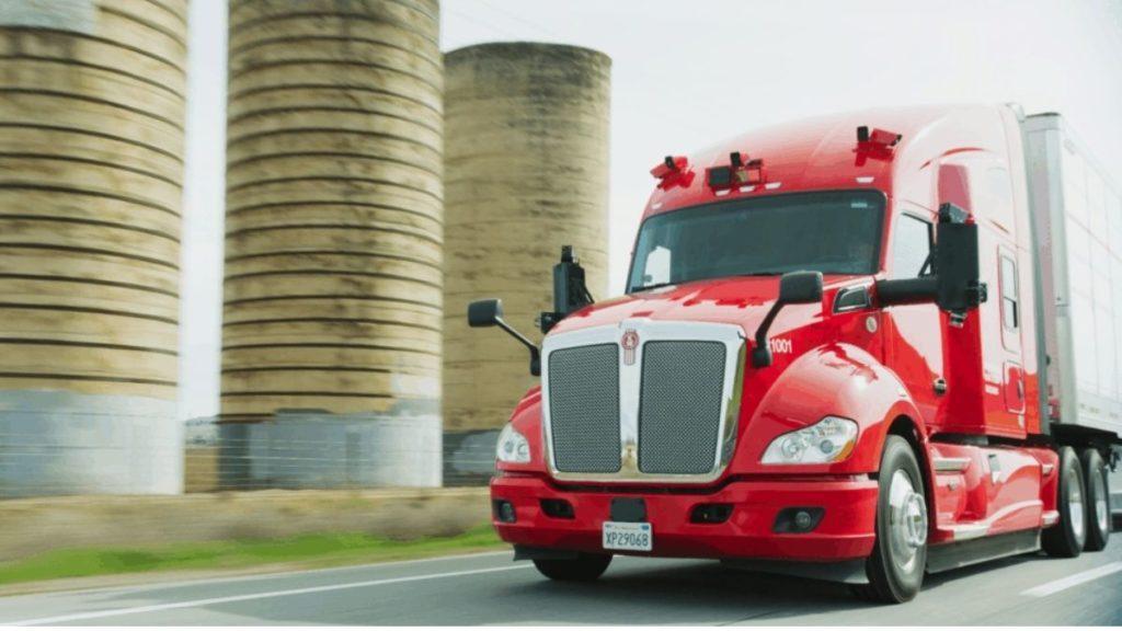 CES 2021 Best tech Kodiak self driving trucks 1024x576 1