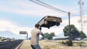 GTA 5 Yerçekimi Tabancası