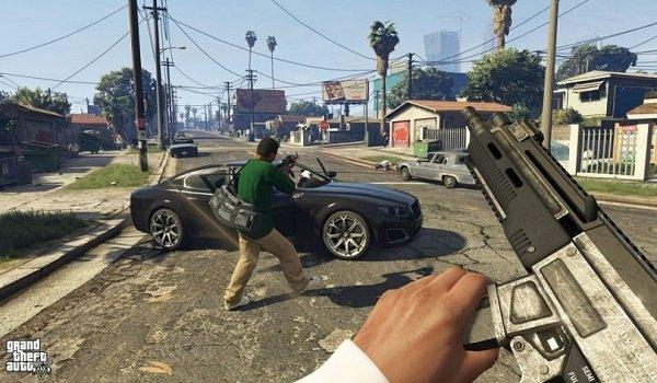 GTA 5 Gerçek VR Modu