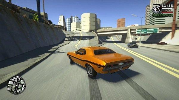 San Andreas'ta GTA 5 grafikleri