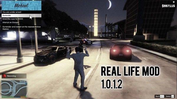 GTA 5 Gerçek hayat modu