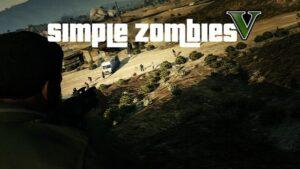 GTA 5 modları - Basit Zombiler