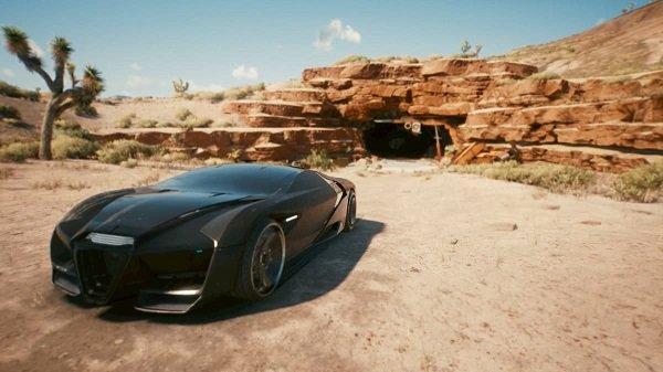 Rayfield Caliburn Fastest Car in Cyberpunk 2077