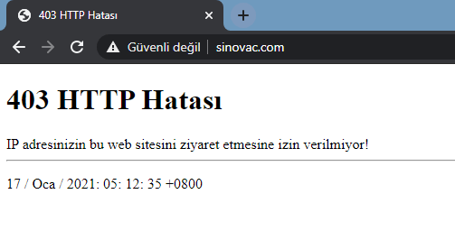 sinovac