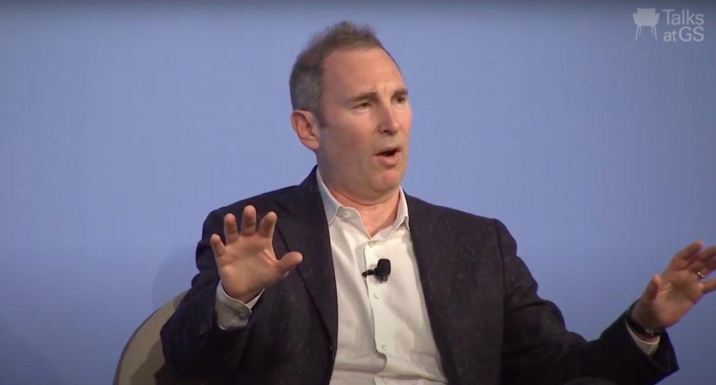 GS'de Andy Jassy Talk'tan bir ekran görüntüsü