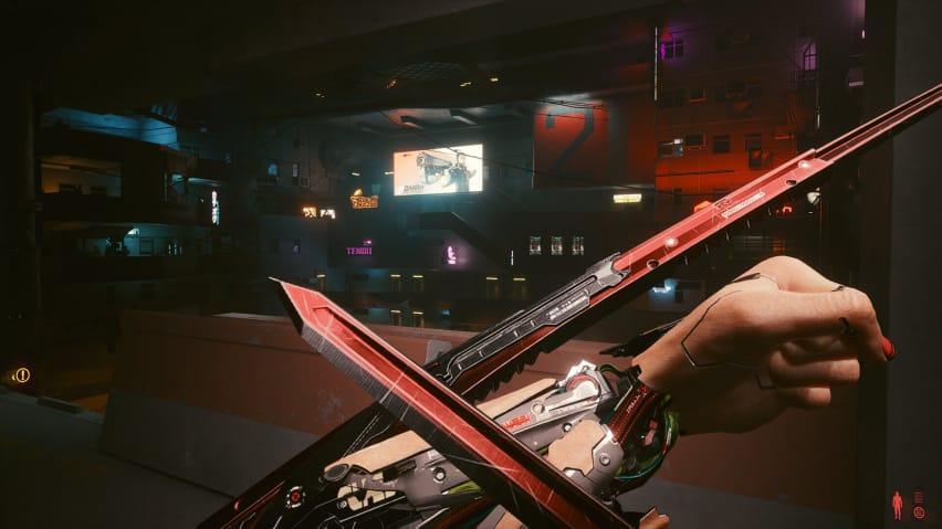 Cyberpunk 2077 Mantis Bıçakları