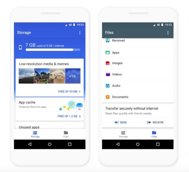 Files by Google Cleaner app Android 640x584 1