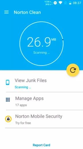 Norton Cleaner Android