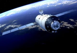 Çinli Uzay Aracı Mars'ın Yörüngesine Başarıyla Girdi