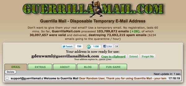 Anonim E-Posta Nasıl Gönderilir ?