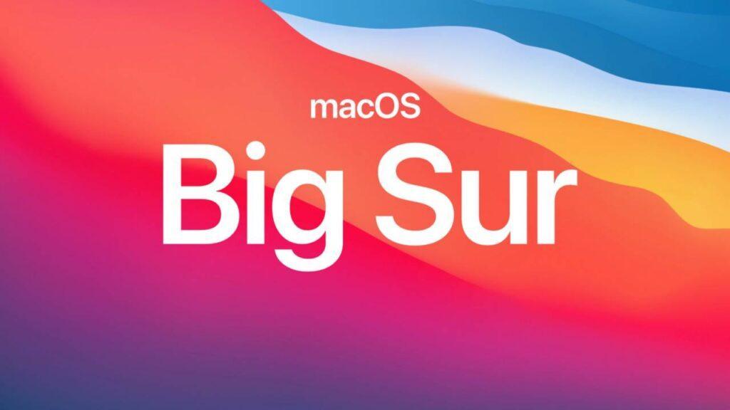 MacOS Big Sur 11