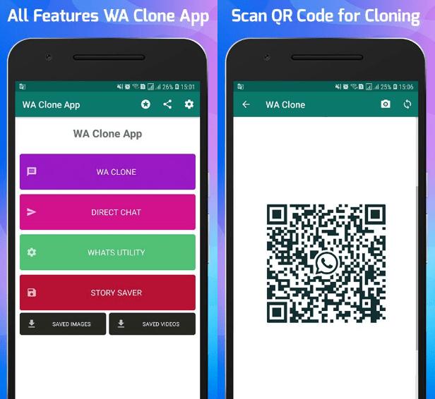 telefon klon uygulamalari