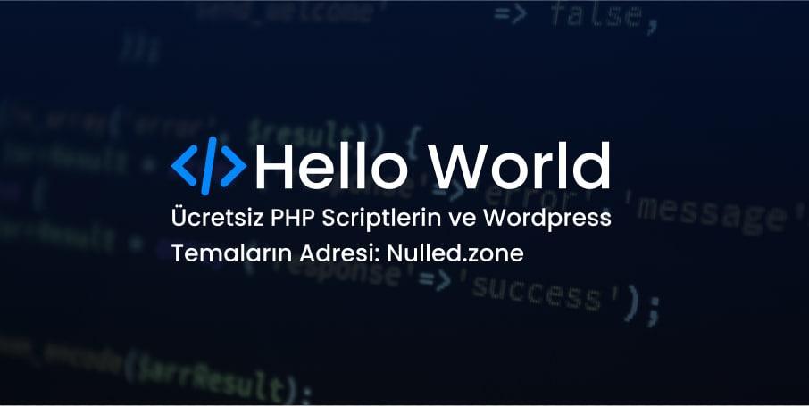 Ücretsiz Php ve Wordpress Temaların Adresi