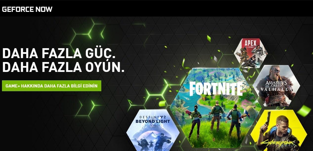 GeForce Now Bedava Premium Hesap Alma