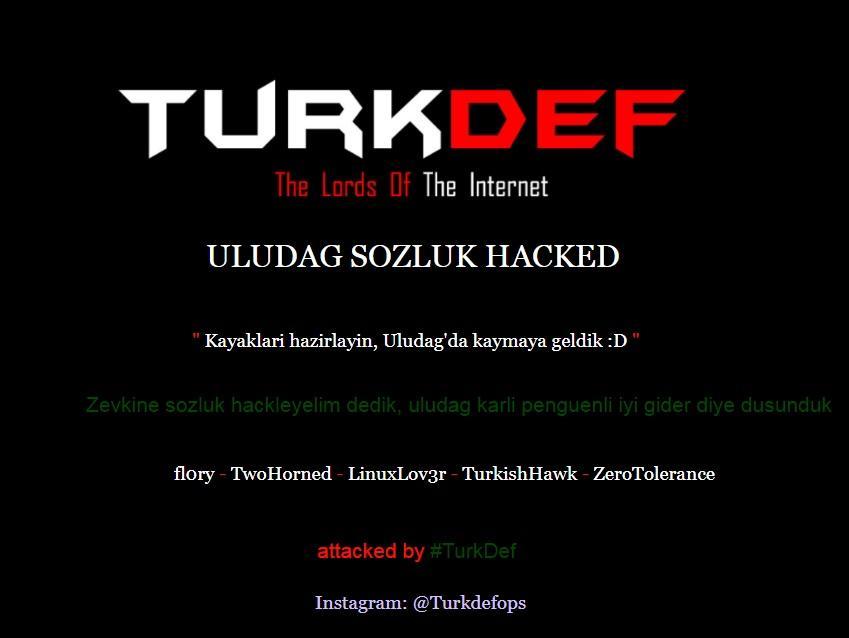 turk def hackledi