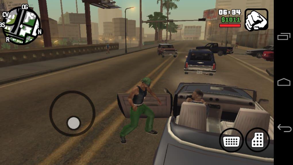 grand theft auto san andreas screenshot
