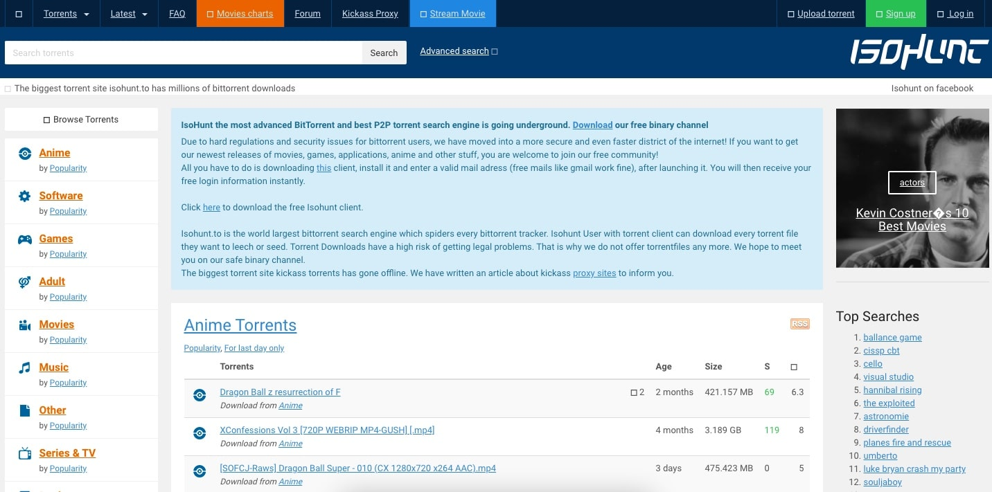 isoHunt oyun torrent sitesi