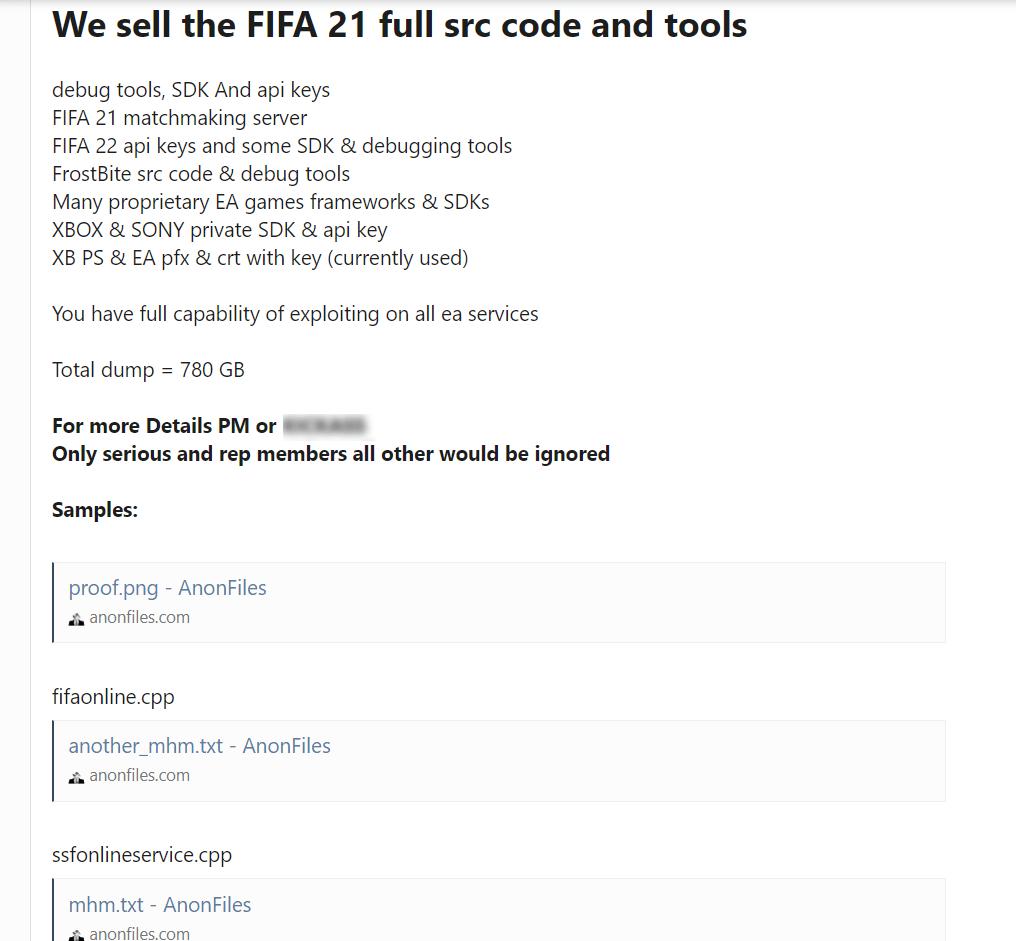 EA data theft min