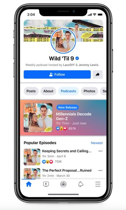 Facebook Podcasts