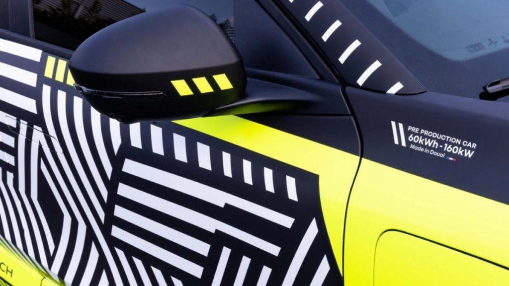 Renault Megane E Tech batarya