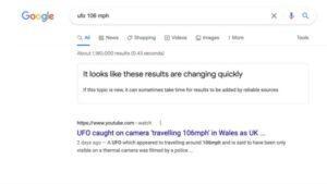 Google Arama Artık Güvenilir Sonuç Vermiyorsa Sizi Uyaracak
