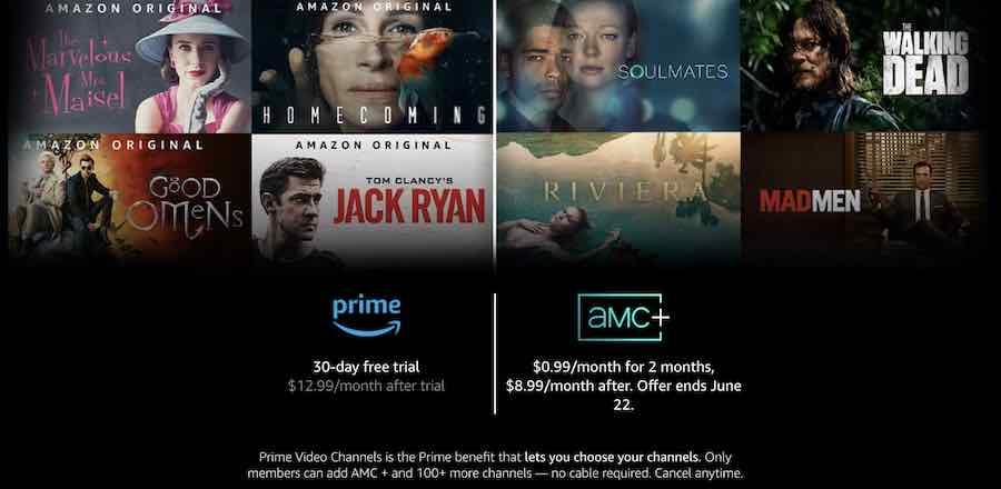 prime amc plus free trial