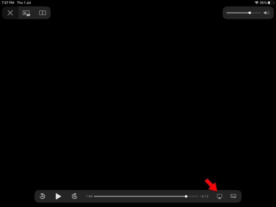 iPad AirPlay icon playback 933x700 1