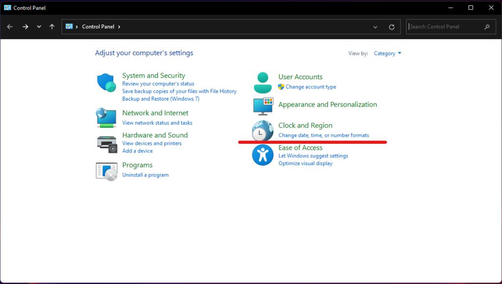 Windows 11'de tarih ve saat nasıl değiştirilir?