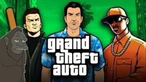 Grand Theft Auto Trilogy Remastered